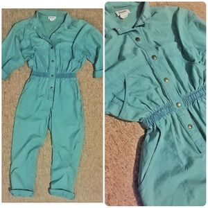 1980s vntg Dreams jumpsuit
